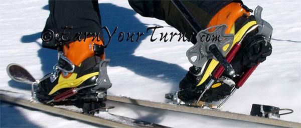 Telemark Tech System Tts Telemark Ski Bindings